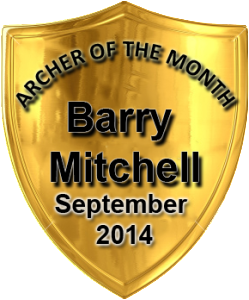 Archer of the Month September Barry Mitchell