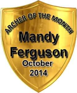 Archer of the Month October 2014 Mandy Ferguson